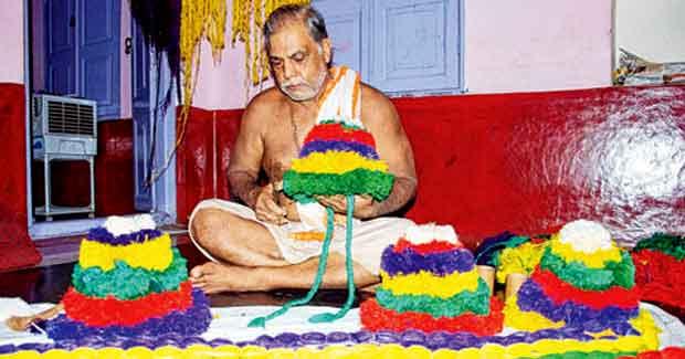 Rakhi for Jagannath, Subhadra and Balabhadra
