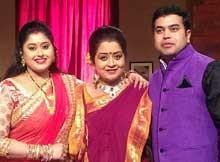 Rali Nanda with husband