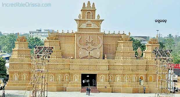 Rasulgarh Durga Puja pandal