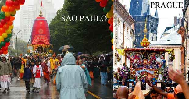 Ratha Yatra around World