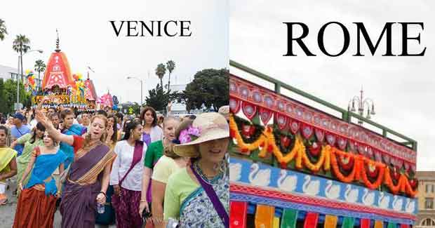 Ratha Yatra in World pictures