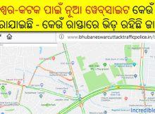 real-time traffic updates in Bhubaneswar