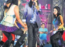 Rituraj Mohanty stage performance