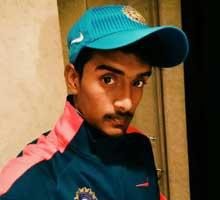 Subham Nayak cricket