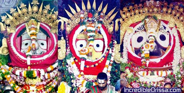 Suna Besha of Lord Jagannath 2015
