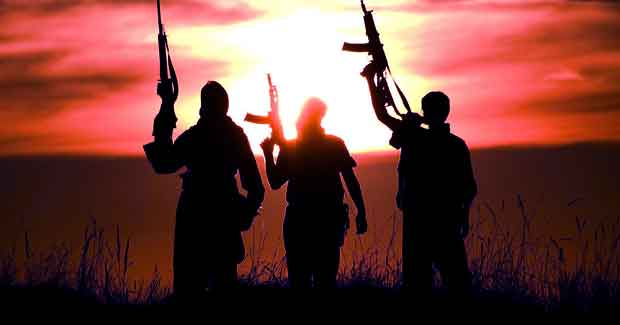 Terrorists in Odisha