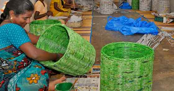 Odisha woman converts waste materials into beautiful items for Best out of waste items
