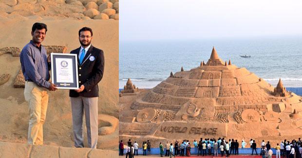 world's tallest sandcastle